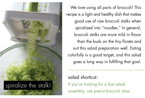 Spiralize the Stalk