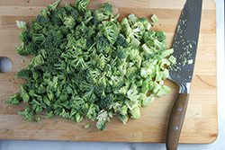 Cutting Broccoli