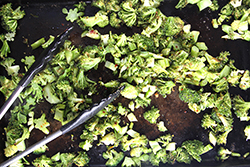 Roasting Broccoli