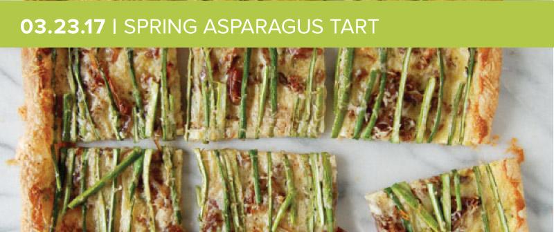 Spring Asparagus Tart