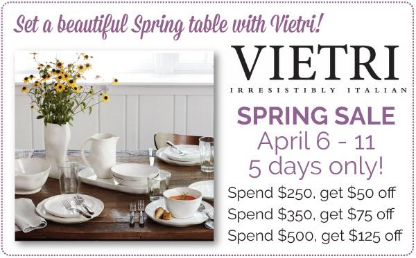 Vietri Spring Sale