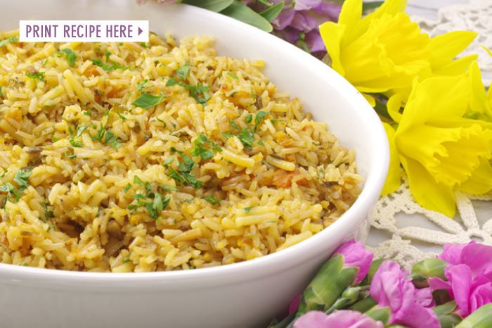 Spring Rice Pilaf