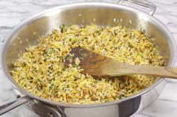 Toasting Rice