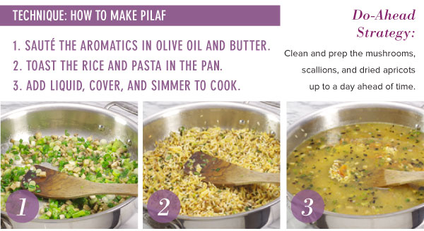 Technique: How to Make Pilaf