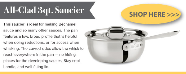 All-Clad 3qt Saucier