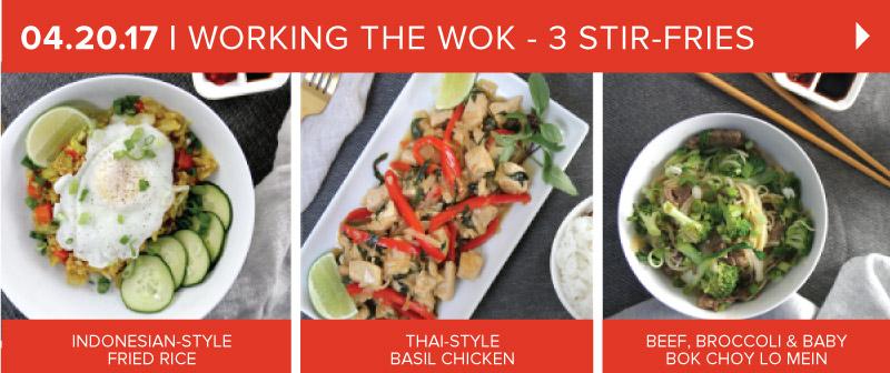Working the Wok