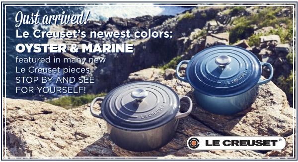 New Le Creuset Colors