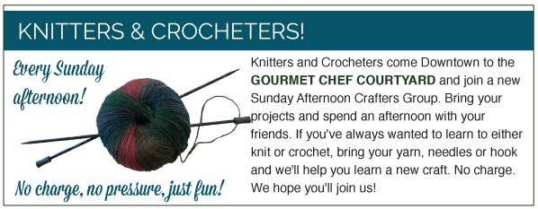 Knitters and Crocheters