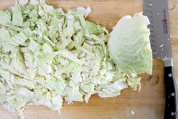 Dicing Cabbage