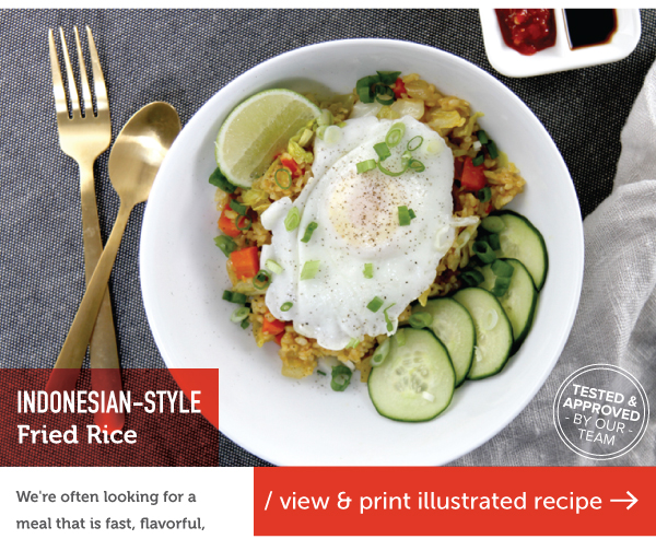 RECIPE: Indonesian-Style Fried Rice