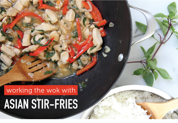 Working the Wok with Asian Stir-Fries