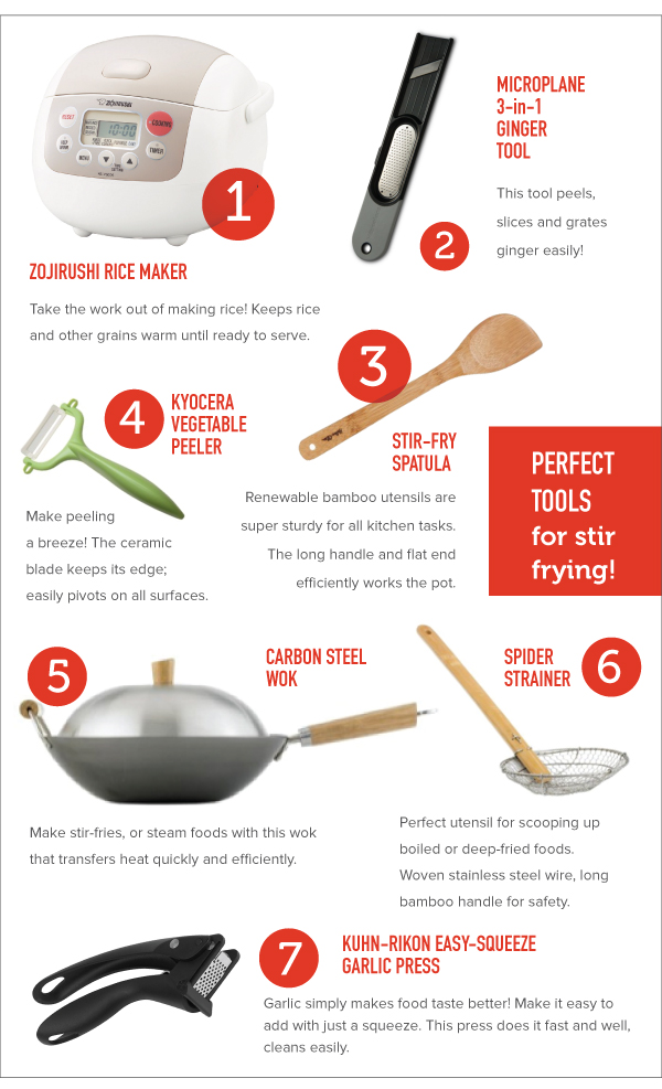 Perfect Tools for Stir Frying