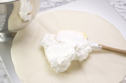 Spreading Meringue