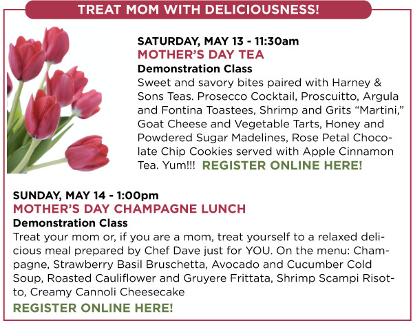 Mother's Day Classes