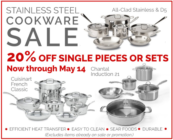 Stainless Cookware Sale