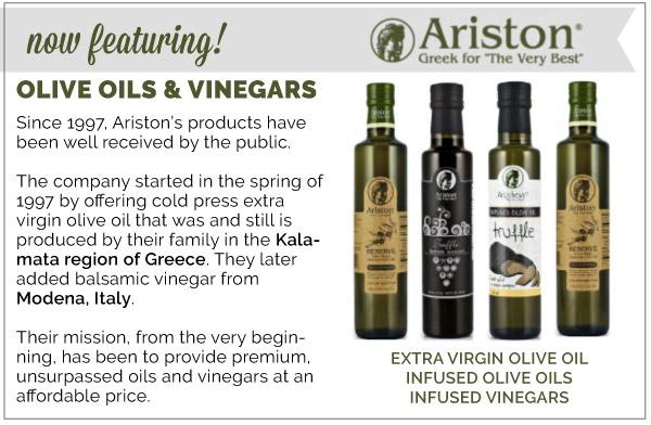 Ariston Oils and Vinegars