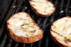 Grilling Bread
