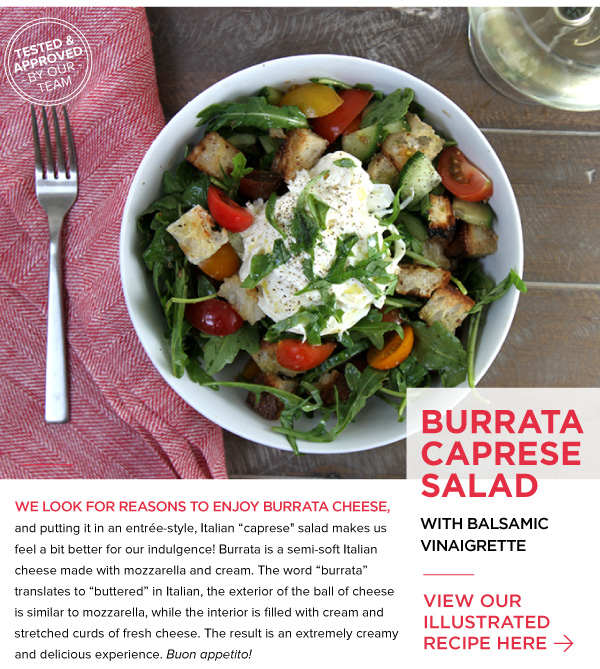 RECIPE: Burrata Capressa Salad
