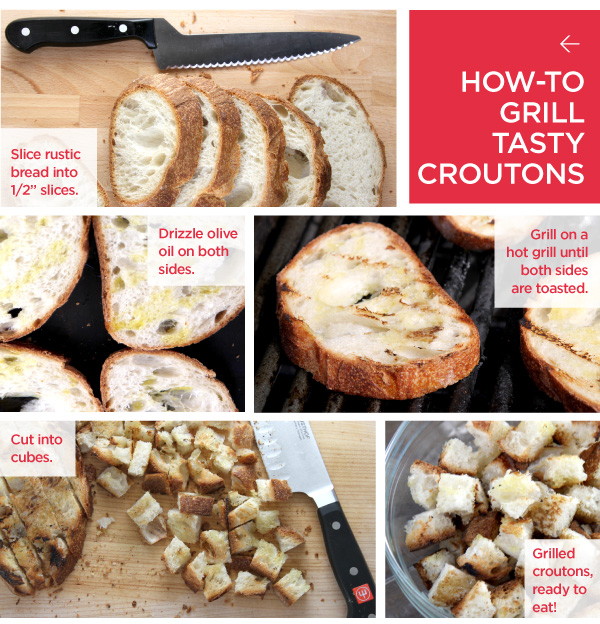 How-To Grill Tasty Croutons