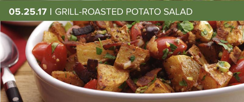 Grill-Roasted Potato Salad