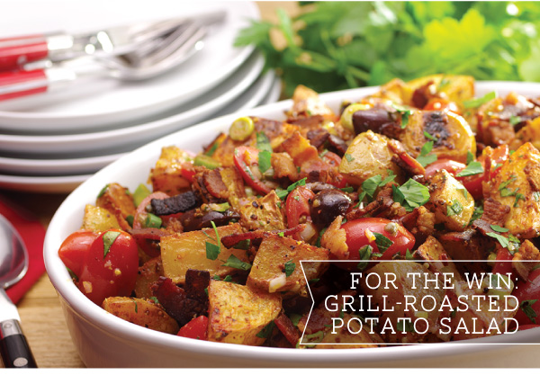 Grill-Roasted Potato Salad