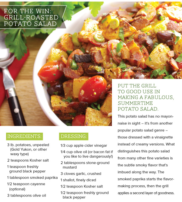 For the Win: Grill-Roasted Potato Salad