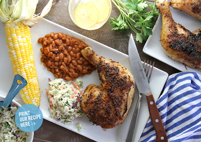 Honey-Mustard BBQ Chicken