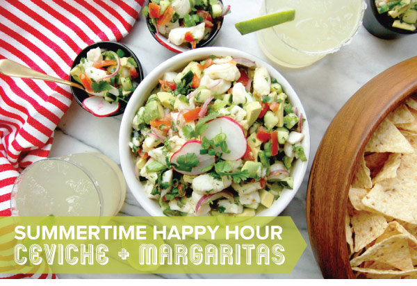 Ceviche and Margaritas