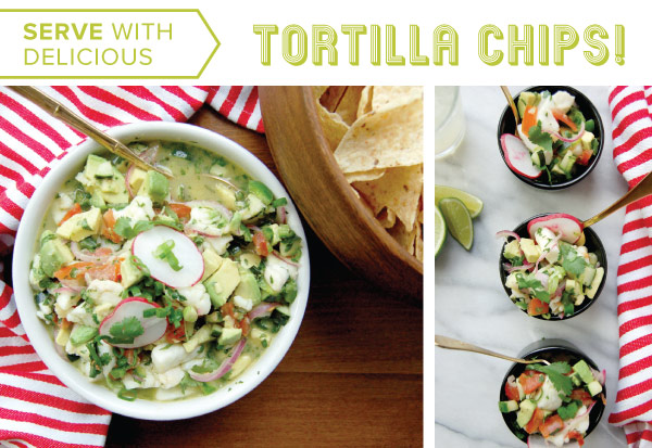 Serve with Tortilla Chips