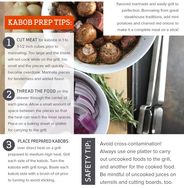 Kabob Prep Tips
