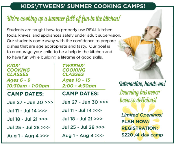 Kids and Tweens Camp
