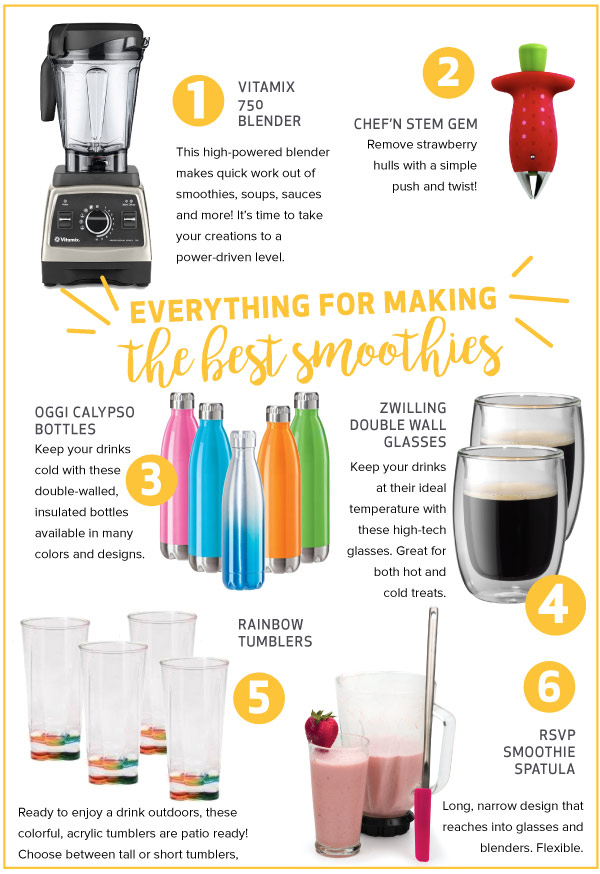 Everything for Making Smoothies