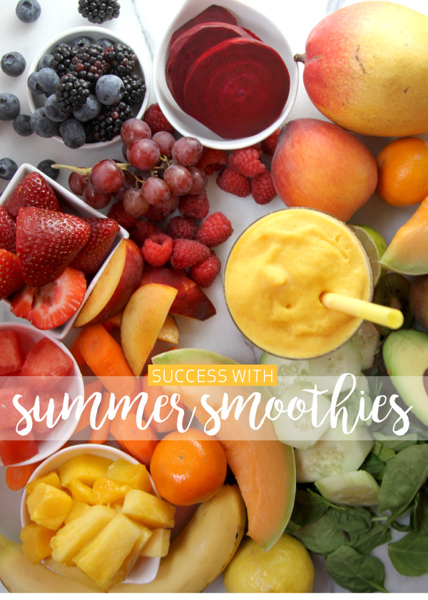 Success with Summer Smoothies