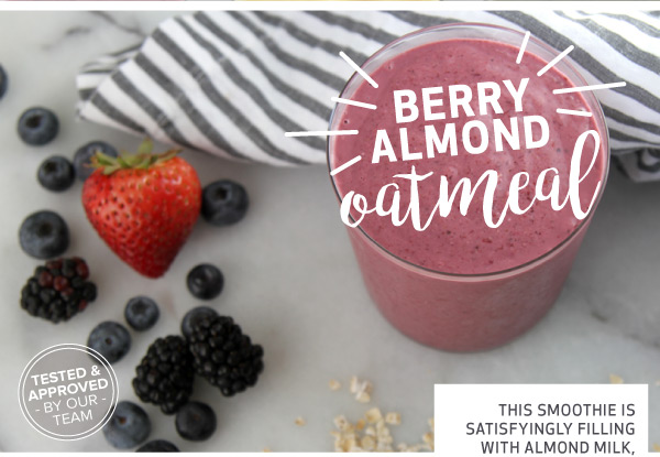 Berry Almond Oatmeal