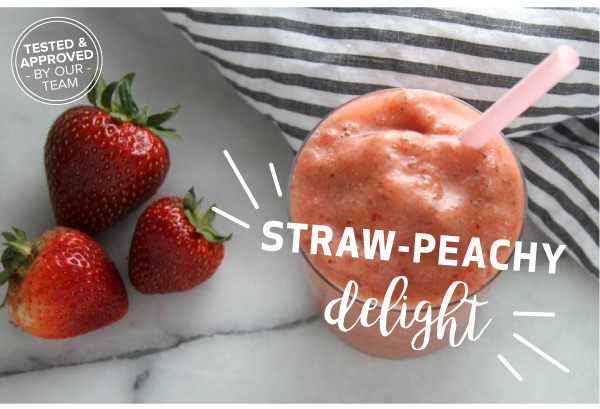 Straw-Peachy Delight