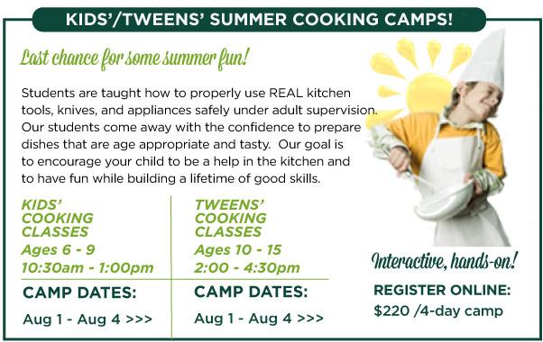 Kids and Tweens Camp