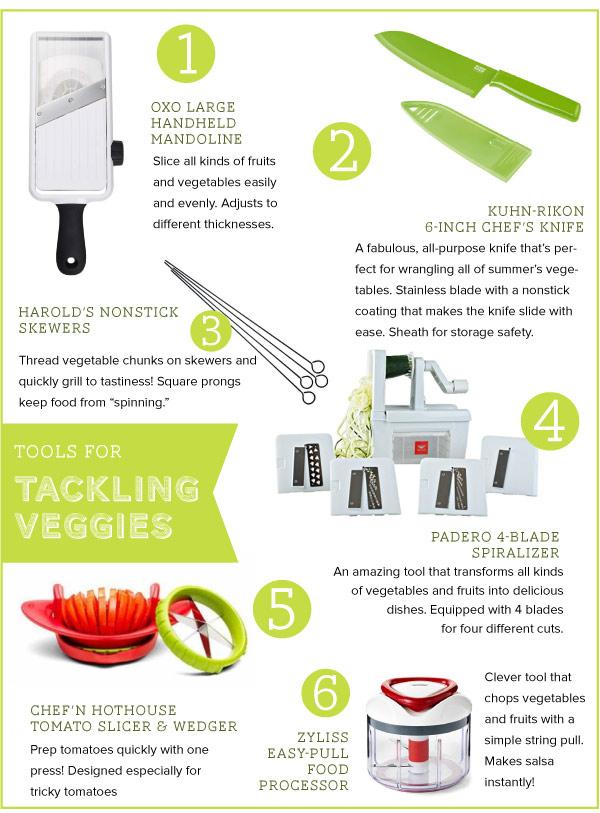 Tools for Tacklng Veggies