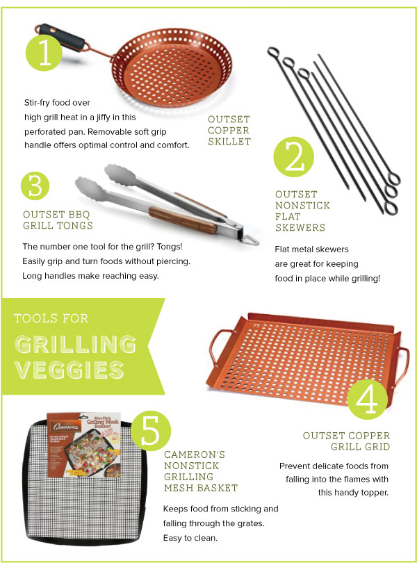 Tools for Grilling Veggies