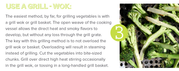 Use a Grill Wok