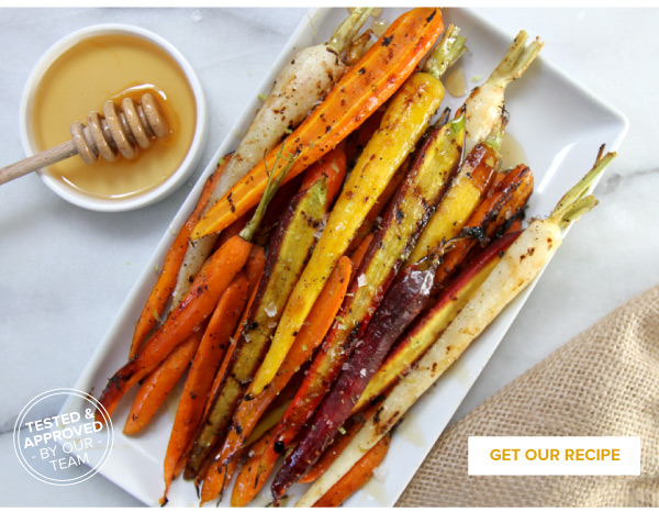 RECIPE: Honey-Lime Grilled Carrots