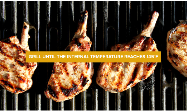 Grill until 145F