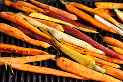 Grilling Carrots