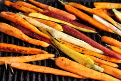 Grilling Carrots