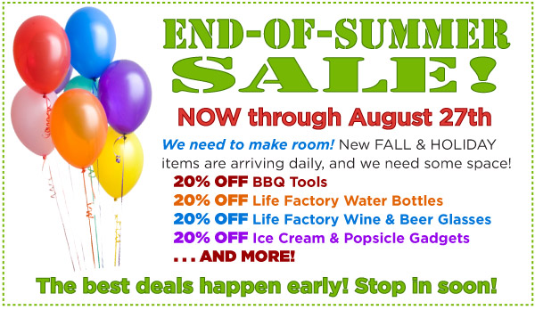 End-of-Summer Sale