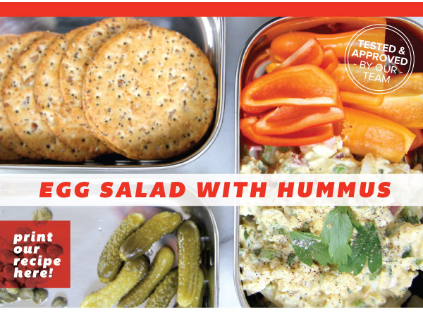Egg Salad with Hummus