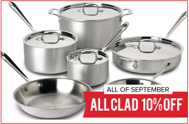All- Clad Sale