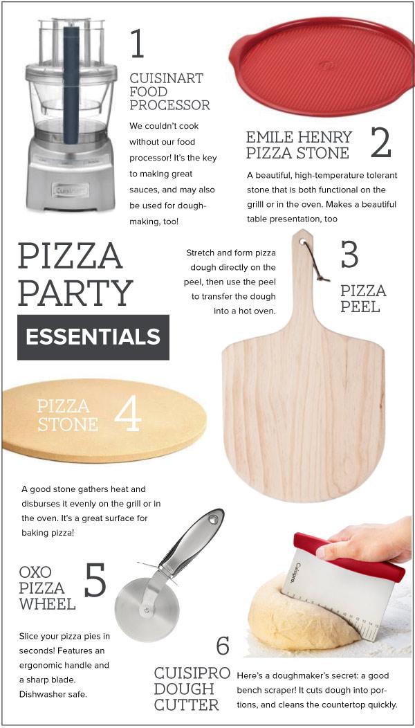 Pizza Party Essentials