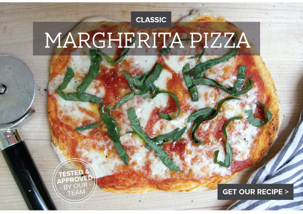 RECIPE: Classic Margarita Pizza