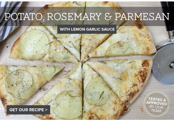 RECIPE: Potato Rosemary and Parmesan