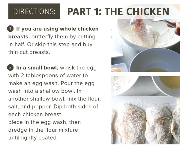 Directions, Part 1: The Chicken